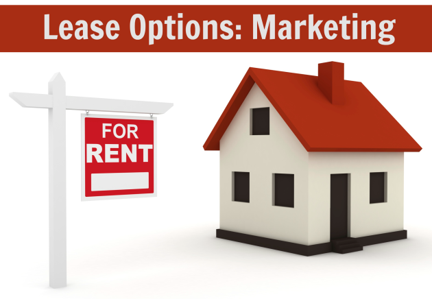 Lease Options Marketing