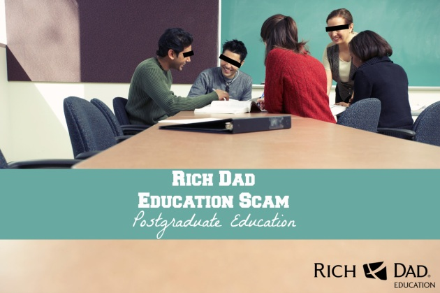 Rich Dad Education College Scam