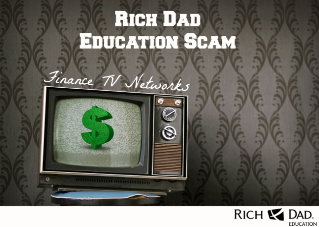 Rich Dad Education Scam Finance TV